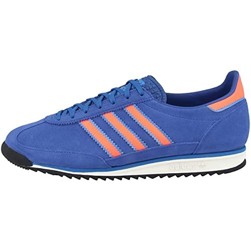 adidas Zapatillas bajas SL 72 para hombre, Team Royal Blue Screaming Orange Bright Blue, 43 2/3 EU