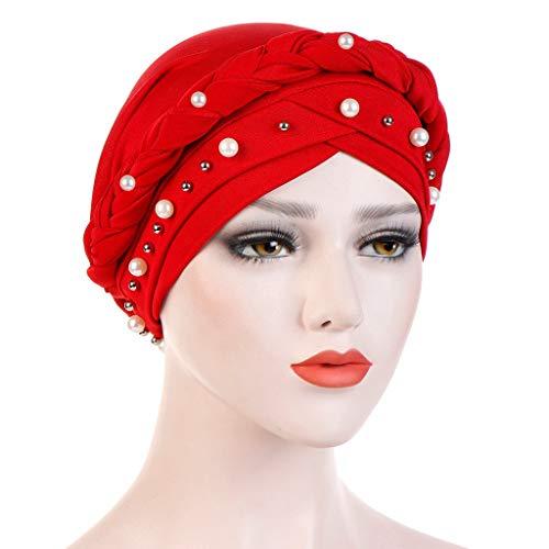 BaZhaHei Sonnenhüte Damen Untertuch Muslimische Kopftücher Frauen Hijab Underscarf Bonnet Muslim Voller Deckel Caps Islamischer Kopfschmuck Shiny Diamond Muslim Turban Hat