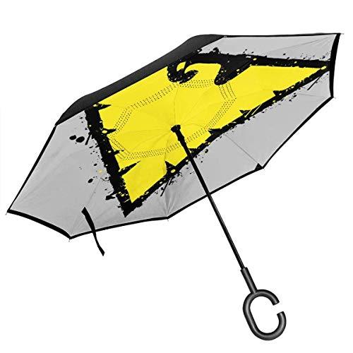 from The Ashes Pheonix Jean Gray X Men Double Layer Inverted Regenschirm für Auto Reverse Folding Upside Down C-Form Hände - Leicht & Winddicht - Ideales Geschenk