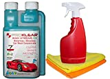 PROKLEAR Waterless Car Wash Kit Concentrate RAW Xtreme CX Carnauba Wax 250ml