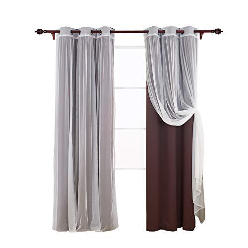 cortina 2 piezas fabricante Deconovo