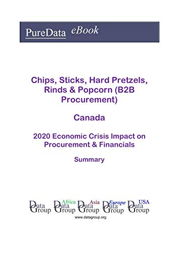 Chips, Sticks, Hard Pretzels, Rinds & Popcorn (B2B Procurement) Canada Summary: 2020 Economic Crisis Impact on Revenues & Financials (English Edition)