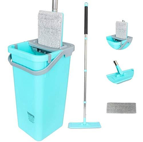Balde Limpador Multiuso Wash & Dry Fast Mop Tssaper Sp-522b