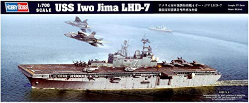 ホビーボス 1/700 艦船シリーズ アメリカ海軍強襲揚陸艦イオー・ジマLHD-7 プラモデル