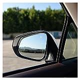 ZHANGJIN Coche Caliente calentada Mancha de Advertencia ala Espejo Trasero Espejo de Vidrio Ajuste para Lexus RX NX NX200T RX350 NX300H RX450H 2015-2020 (Color : Right)