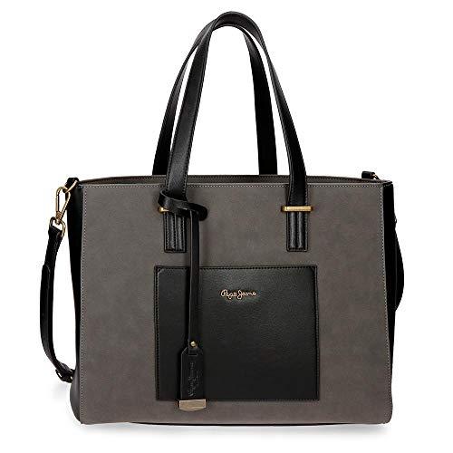 Tasche für Laptop Pepe Jeans Lorain Schwarz