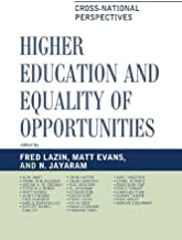 Higher Education and Equality of Opportunity: Cross-National Perspectives (Studies in Public Policy)