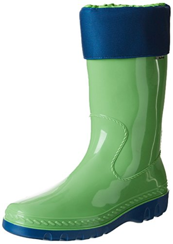 Romika Unisex-Erwachsene Eisbär Gummistiefel, Grün (Lime-blau 646), 36
