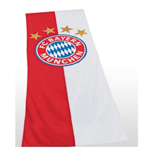 FC Bayern München Hissfahne Hochformat Logo 150 x 400 cm