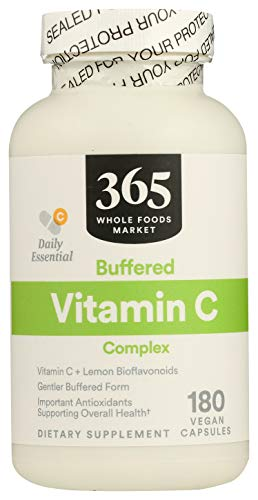 365 by Whole Foods Market, Supplements - Vitamins, C Complex - Buffered, 180 Count