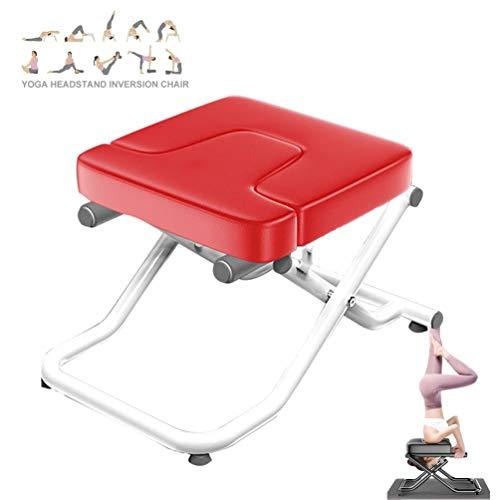 NTWXY Yoga-Umstellungs-Stuhl, Stand Yoga Stuhl für Familie, Stahlrohr und PU-Pads, Fitnessgeräte - lindern Sie Müdigkeit und Bauen Sie Körper auf, für Familien, Fitnessstudio