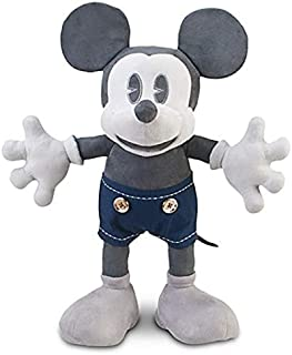 D23 Exclusive 25th Anniversary Mickey Mouse Plush Toy -- 18'' H by Disney