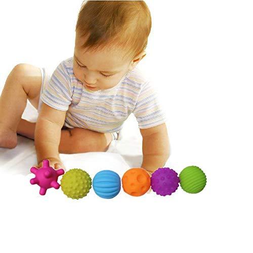 Fliyeong Premium Baby Sensory Balls Set Soft Balls Lernspielzeug Massageball