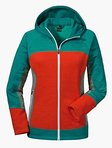 Schöffel Fleece Trentino Veste Femme Spectra Green FR : S (Taille Fabricant : 36)
