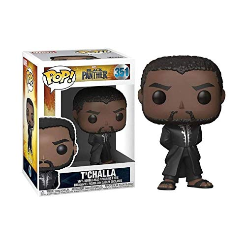 Funko Pop! Marvel: Black Panther - TChalla #351 Bobble-Head Vinyl Figure