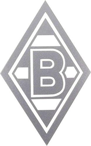 "AUFKLEBER STICKER ""Raute"" silber VFL BORUSSIA MÖNCHENGLADBACH"