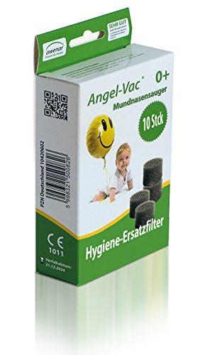 Filter für Angel-Vac Mundnasensauger 10 Stück Ersatzfilter Nasensauger Ersatzteil Ersatz Hygienefilter