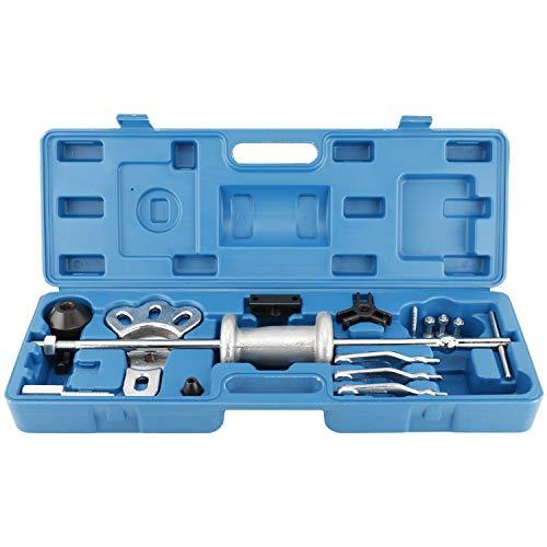 FreeTec Roulement de Roue Moyeu de roue prises Disques à douille Extracteur outil de Axe avec lubrifiant Marteau