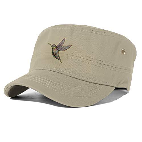 Générique Ligne Oiseau Arc en Ciel Ligne Art réglable Adulte Snapback Chapeau Casquette de Baseball Naturel