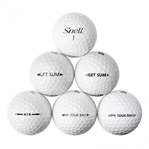 Snell Mix Golf Balls 12 Pack, White