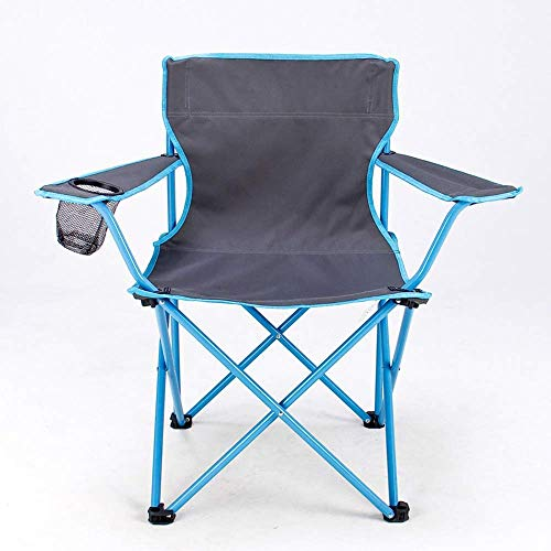 LHQ-HQ Pesca al Aire Libre Silla sillas Naranja Verde Azul Plegable heces Muebles de jardín con Bolsillo Plaza Engrosamiento Plegable Camping