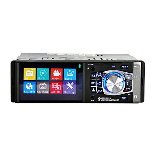 Auto HD Play MP5 Player, Bluetooth 4.0, unterstützt Freisprechanrufe, 4.1 Hd Single 1din Auto Stereo Video MP5 Player Bluetooth FM Radio AUX USB