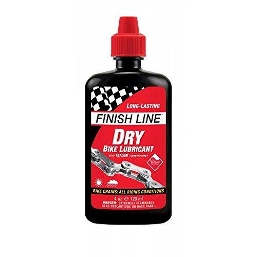 Finish Line Dry - Lubricante seco con teflón para Mountain Bike (120 ml)