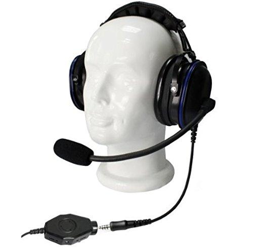 G-Mobility GMTKNR25M1 gehoorbescherming met microfoon voor Motorola CP040 / GP300 / XTN
