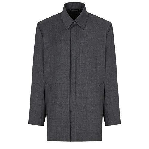 Luxury Fashion   Balenciaga Heren 583838TFT071240 Grijs Wol Overhemden   Herfst-winter 19