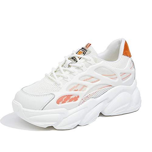 N-B Spring Thick-Soled - Zapatillas de deporte para mujer (tallas grandes)