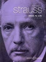 シュトラウス, R.: アンダンテ/ブージー & ホークス社/ピアノ伴奏付ホルン・ソロ