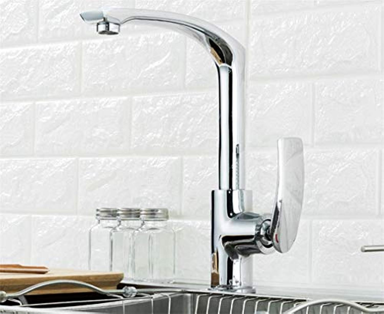 Edelstahl Einhand Mischer Einhebel Küchenarmatur Silber Drehbare Bad Wasserhahn Einzigen Handgriff Heie Und Kalte Spüle Mischbatterie Waschbecken Wasserhahn