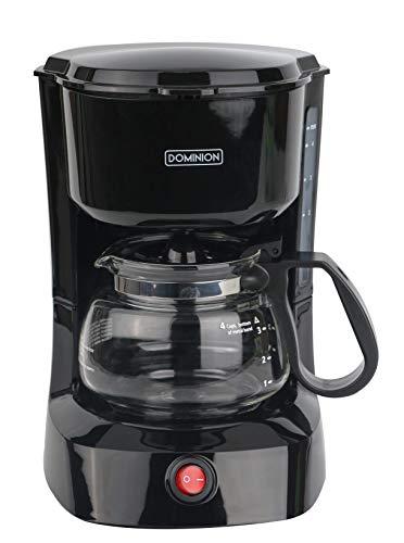 Lowest Price! Dominion D7009CM Compact Coffee Pot Brewer Machine, Black