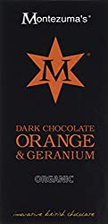 Dark chocolate blended with a citrus and floral oil