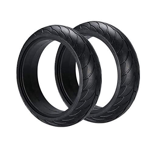 Sankuai Neumático sólido de 8 Pulgadas para Ninebot ES 1 2 4 Scooter eléctrico neumáticos Traseros reemplazos de Rueda de Rueda para Ninebot ES1 ES2 ES4 Neumáticos (Color : 2 Pieces)