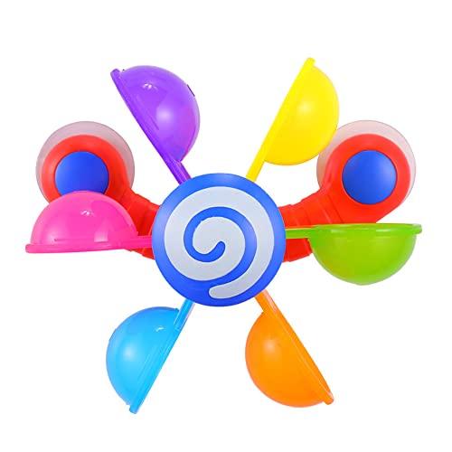 Kleinkind Badespielzeug Baby Badewanne Windmühle Spielzeug Bad Windmühle Baby Badewanne Duschkopf Baby Jungen Geschenke Für Dusche Kinder Sprinkler Jungen Mädchen Badezimmer Pool Wasser Spielzeug Gesc