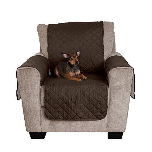 Furhaven Funda para muebles de mascota, resistente al agua, dos tonos, reversible, cubierta protectora para muebles para mascotas cama para perros y gatos – disponible en varios...