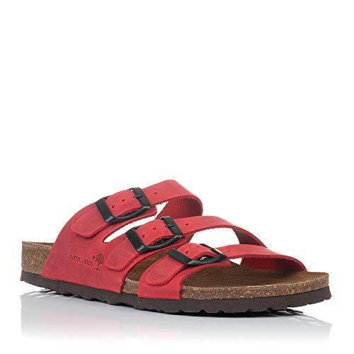 Sandalias Bio 7213 Rojo