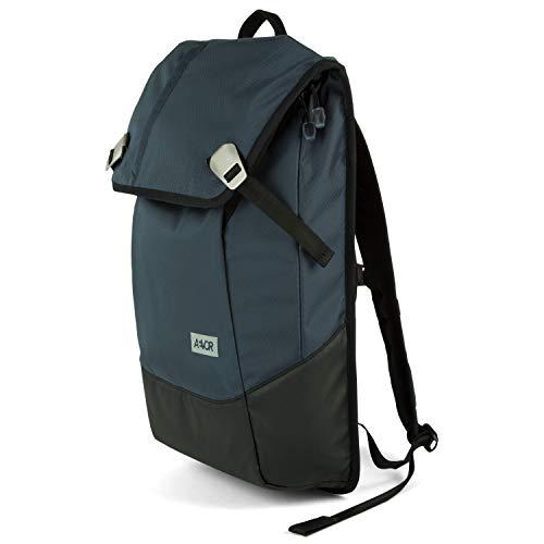 AEVOR Daypack Proof - erweiterbarer Rucksack, wasserfest, ergonomisch, Laptopfach, Petrol