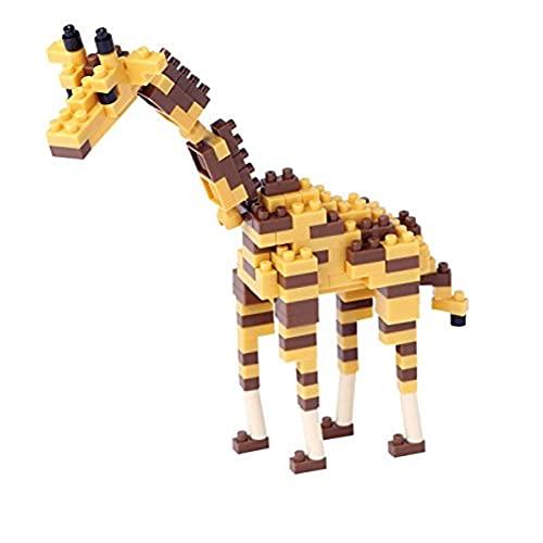nanoblock nan-nbc158Giraffe 3D Puzzle