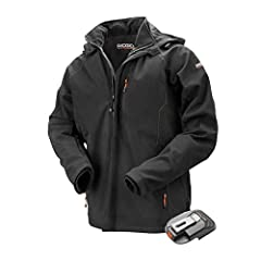 3 HEATING ZONES: 3 heating zones provide maximum warmth 3 HEAT SETTINGS: 3 heat settings allow users to customer jacket to their needs CONVENIENT: Removable hood provides convenience DESIGN: Wrinkle resistant with an elastic banded waist and 4 pocket...