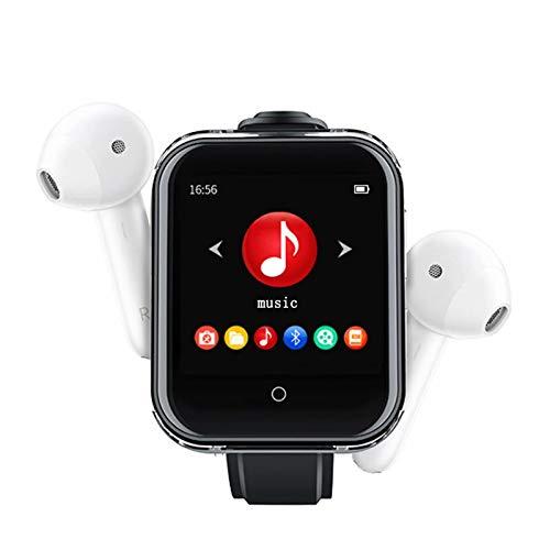 Musik-Player zum Laufen - Tragbarer 8-GB-MP3-Player mit Bluetooth 4.1, 1,54-Zoll-HD-Touchscreen mit FM-Radio, E-Book, Schrittzähler zum Laufen