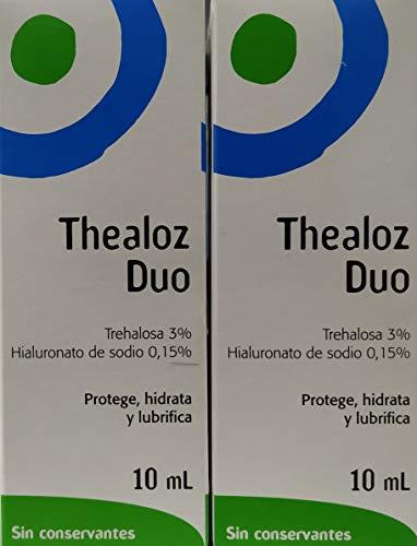 2 x Thealoz Duo Augentropfen 10ml NEU