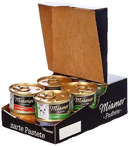 Miamor Pastete MB Geflügel ,12er Pack (12 x 85g)