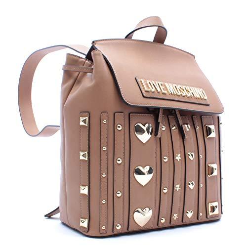 Love Moschino Rucksack Damen JC4241 Cammello Leder Synthetisch Beige