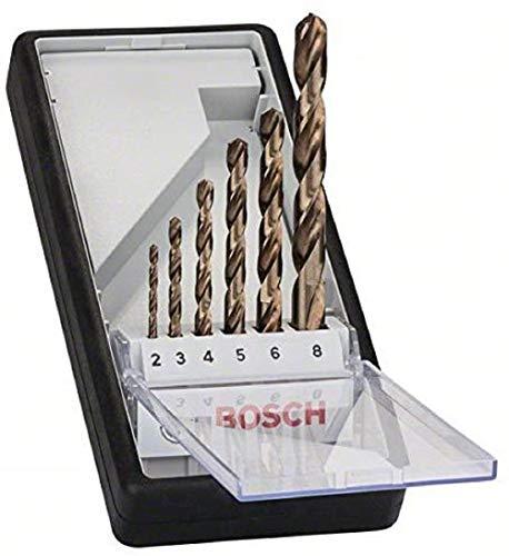 Bosch Pro 6tlg. Metallbohrer-Set HSS-Cobalt Robust Line