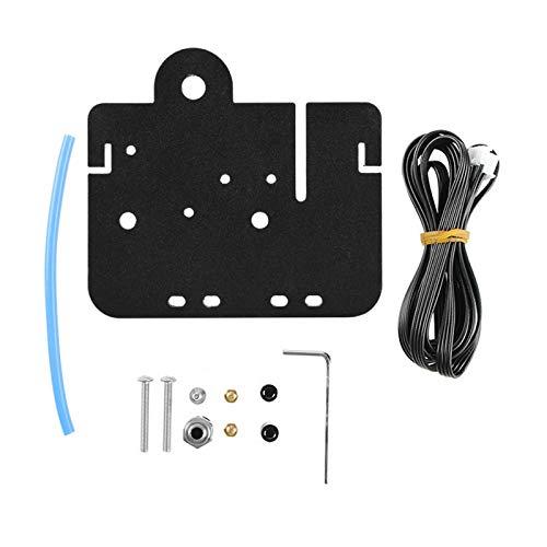 Kit de placa de transmisión directa Kit de conversión de extrusora de transmisión directa Eje Z Instalación de la cubierta del proceso para accesorios de la impresora 3D Ender-5