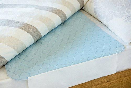 Waschbare Inkontinenz-Einlage, für Bett, Stuhl, erhältlich in 5Größen, Double with Tuck