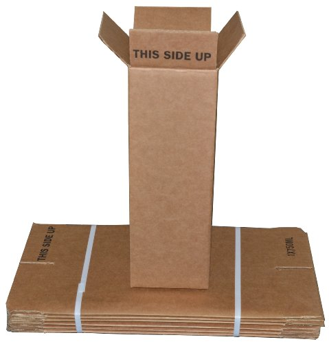 1 Bottle Wine/Champagne Shipping Boxes (6 Boxes) - R1BCB