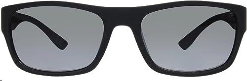 2021 Foster Grant discount Men's Zac popular Rectangular Black Rubber Driving Fashion online sale